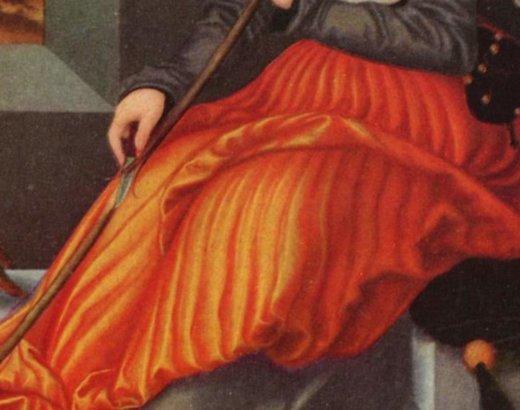 La jupe traditionnelle – des plis très canon!