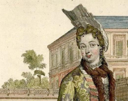 La palatine, un zeste de mode allemande à Versailles